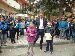 Щафета 2016 година - ОУ Свети Патриарх Евтимий - Белослав
